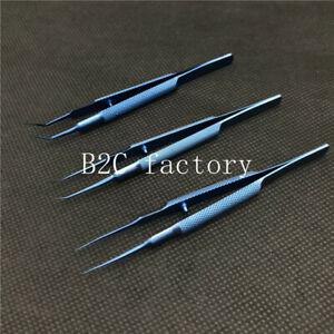 Titanium Tweezers Forceps Ophthalmic Dental forceps micro Instruments