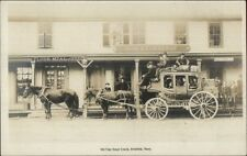 Brimfield Ma Old Time Stagecoach John Converse Store Real Photo Postcard dcn