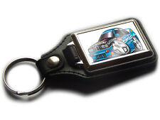 BMW E30 M3 Listerine Rally Car WRC Koolart Quality Chrome And Leather Keyring!
