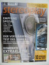 STEREOPLAY 4/01,ACCUPHASE E 211,ASR EMITTER 1 +,ELECTROCOMPANIET ECE 4,METZ DF71