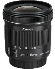 CANON Lens EF-S 10-18mm f/4.5-5.6 IS STM With 2 Years Canon India Warranty