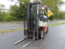 2002 Nissan 50 4400 lbs Warehouse / Industrial Forklift Lift bidadoo