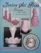Antique Fenton Art Glass Value Guide Collector'S Bowl Plate Vase Pitcher 368 Pg