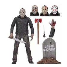 """NECA Friday the 13th Scale Action Figure Ultimate Part 5 Jason Voorhees 7"""" Gift"""