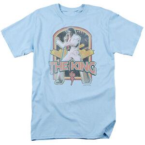 Elvis Presley King Live in Concert 70's Vintage Style Tee Shirt Adult S-3XL