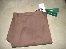"""Ralph Lauren"" Womens New Cotton Stretch Casual Pants Size 12 Petite NWT $72.00"