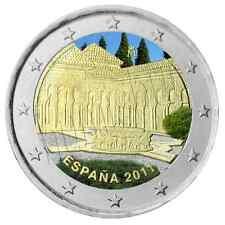 ESPAÑA 2 euro 2011 MULTICOLOR Alhambra de Granada S/C  Spain