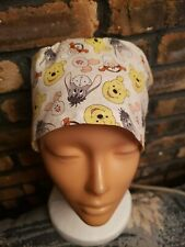 Whinnie The Pooh & Friends. Handmade Surgical Scrub Caps