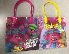NEW STYLE 12PCS Dreamworks Trolls Goodie Party Favor Gift Birthday Loot Bags