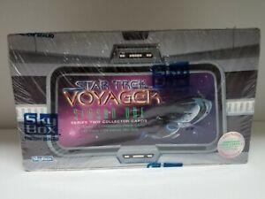 Star Trek Voyager Season 1 Series 2 Collectible Trading Card Pack Box