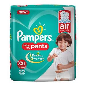 Pampers New XX-Large Size Diapers Pants, 20 Count (free shipping world)