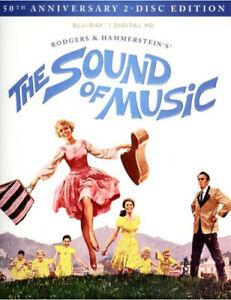The Sound of Music (50th Anniversary) [New Blu-ray] Anniversary Ed, Rmst, Subt