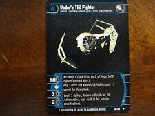 Star Wars TCG ANH 4x Vader's TIE Fighter (B)