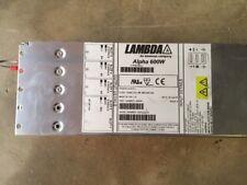 Lambda Invensys Alpha 600W J60049 Modules D D D G Waters Micromass Q TOF