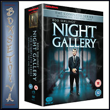 NIGHT GALLERY - THE COMPLETE COLLECTION SERIES 1 2 & 3**BRAND NEW DVD BOXSET ***