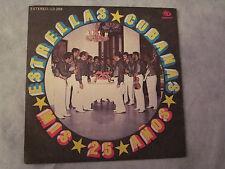 """ESTRELLAS CUBANAS""""MIS 25 ANOS , Disco LP, SIBONEY"""""""