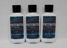 Bath & Body Works Whitewater Rush Body Lotion for Men Set of 3