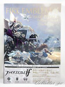 JP Book | Fire Emblem Fate Visual Works Pellucid Crystal Art Book