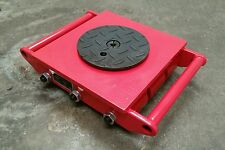 15 Ton heavy machine dolly skate machinery roller mover 9 wheels