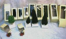 HO Décor train dans emballages 11 arbres  et arbustes - neuf