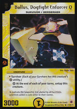 Holo/Foil Dallus, Dogfight Enforcer Q L13/20 Y1 Promo Duel Masters TCG Unplayed