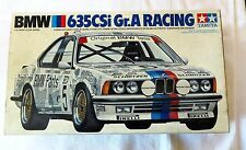 Tamiya BMW 635CSi Racing Model New Open Box Complete 1:24 #2461 R260