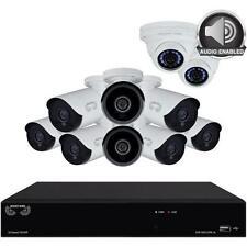 Night Owl HDA10P-10BU-168-2DMA-2 10 Camera 16 Channel 2MP (1080P) DVR Video Secu