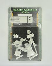 Warhammer 40K Metal Inquisitors Retinue ACOLYTE CHERUB & SERVO SKULL IN BLISTER