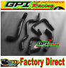 Silicone Radiator Hose Kit  Ford Falcon BA BF XR6 Turbo BLACK NEW
