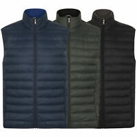 Mens Gilet Tokyo Laundry Puffer Bodywarmer Padded Quilted Hooded Winter Lined