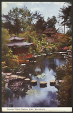 Bournemouth, Dorset. Japanese Temple at Compton Acres. Vintage Postcard
