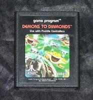 DEMONS TO DIAMONDS - ATARI 2600 GAME - ((TESTED & WORKING)) (#21 OF 50)