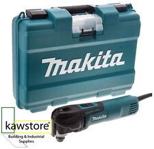 Makita TM3010CK Multi-Tool, Tool-Less Blade Change, Case, 320 Watt, 240 Volt