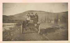 RPPC,Family in a c.1915 Model,Cyko Photo Paper