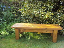 Quality Handmade Wooden Garden-kitchen-Dining-utility Bench Sturdy And Solid 3FT