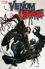 MARVEL COMICS VENOM VS CARNAGE TRADE PAPERBACK TPB SPIDER MAN BLACK CAT