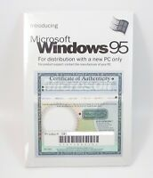 Microsoft WINDOWS 95 Operating System CD Full Version w/ License Key SEALED