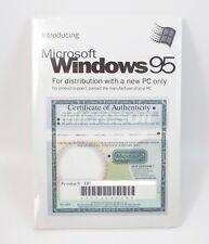 Microsoft WINDOWS 95 Companion CD w/ License Key SEALED
