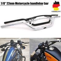 7/8'' 22mm Motorrad Lenker Fehling Cross Z Bar Für Harley-Davidson Dyna Softail