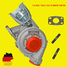 Turbolader Ford Focus II 1.6 TDCi Citroen Peugeot 1.6 HDI 80 kW 109PS 753420