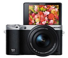 Samsung NX500 4K UHD Mirrorless Camera 16-50mm Lens (Black) -Express Shipping