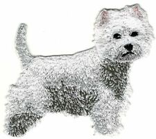 Westie Westy West Highland White Terrier Dog Breed Embroidery Patch