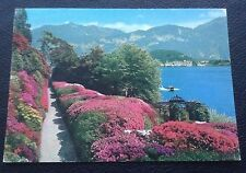 Postcard: Lago Di Como: Flowering Of The Azaleas: Posted: Post Date Is 1973
