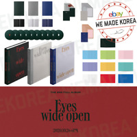 TWICE EYES WIDE OPEN The 2nd Full Album Random Version + Folded Poster