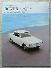 ROVER 2000 Colour Magazine Car Sales Brochure Oct 1963
