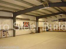 Durobeam Steel 30x40x12 Metal I Beam Clear Span Home Storage Workshop Building