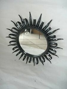 Mirror Dressing Table Frame Iron Rays Sole