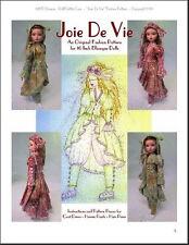 """Joie De Vie"" Fashion Pattern for Ellowyne"