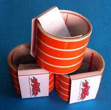 Striscie ruote cerchi moto colore Arancione - adesivi/adhesives/stickers/decal