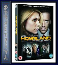 HOMELAND - THE COMPLETE SEASON 2  **BRAND NEW DVD **